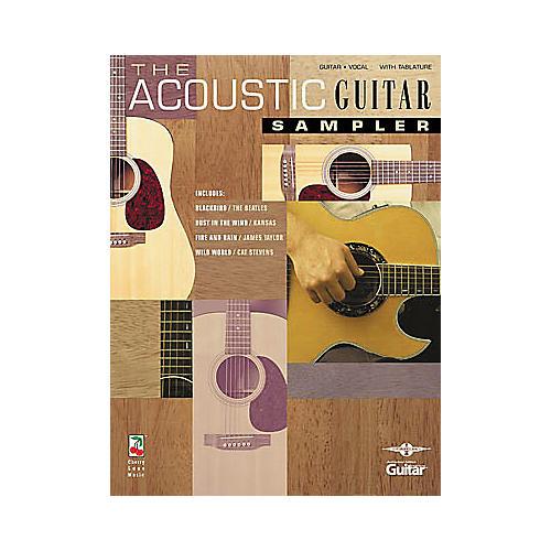 Hal Leonard The Acoustic Guitar Sampler Book