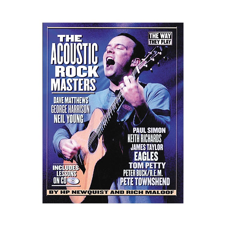 Backbeat BooksThe Acoustic Rock Masters - They Way They Play (Book/CD)