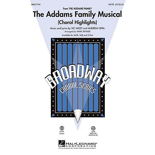 Hal Leonard The Addams Family Musical (Choral Highlights) SATB arranged by Mark Brymer