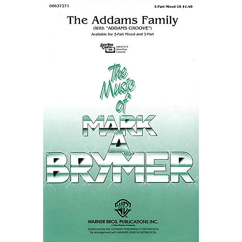Hal Leonard The Addams Family (with Addams Groove) ShowTrax CD Arranged by Mark Brymer