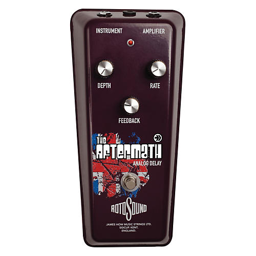 Rotosound The Aftermath Vintage Analog Delay Guitar Effects Pedal-thumbnail