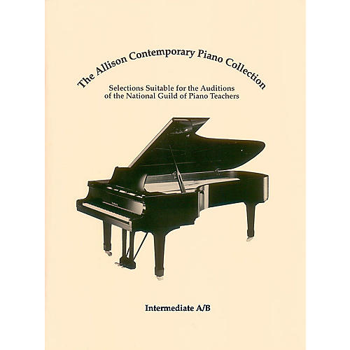 Hal Leonard The Allison Contemporary Piano Collection Educational Piano Library by National Guild of Piano Teachers-thumbnail