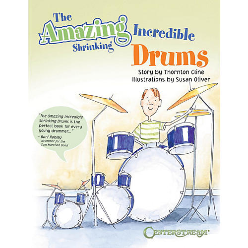 Centerstream Publishing The Amazing Incredible Shrinking Drums Book Series Softcover Written by Thornton Cline-thumbnail