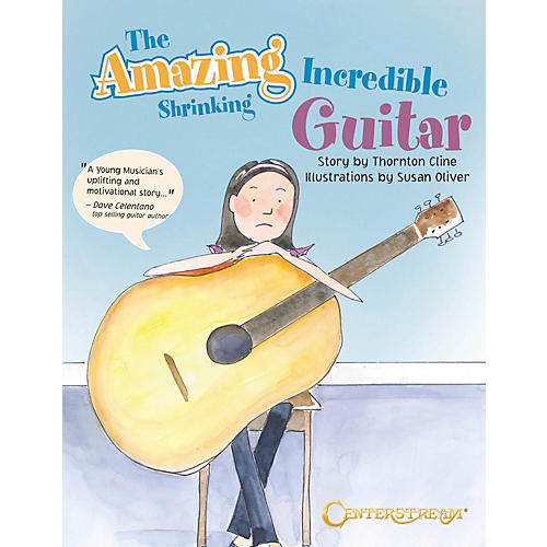 Centerstream Publishing The Amazing Incredible Shrinking Guitar Guitar Series Softcover Written by Thornton Cline-thumbnail