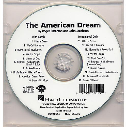 Hal Leonard The American Dream Performance/Accompaniment Cd