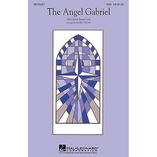 Hal Leonard The Angel Gabriel (SSA) SSA arranged by Audrey Snyder-thumbnail