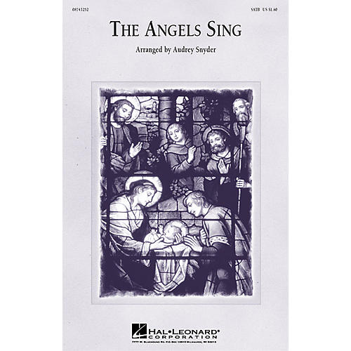 Hal Leonard The Angels Sing (Medley) (3-Part Mixed) 3-Part Mixed Arranged by Audrey Snyder-thumbnail