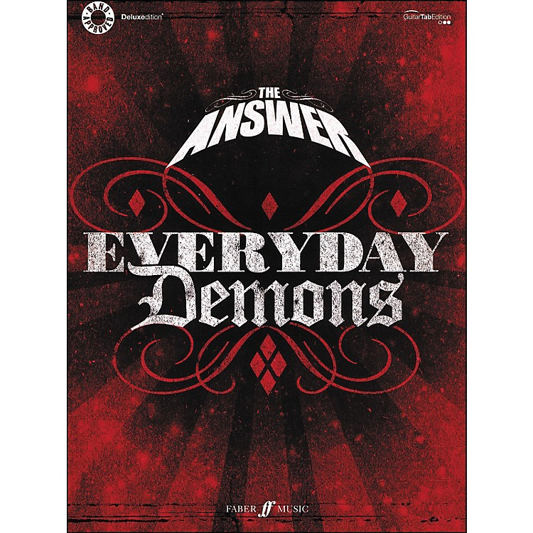 Hal LeonardThe Answer - Everyday Demons Tab Book