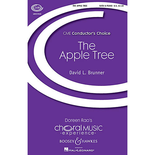 Boosey and Hawkes The Apple Tree (CME Conductor's Choice) SATB composed by David Brunner