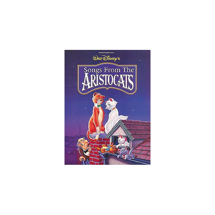Hal Leonard The Aristocats Piano, Vocal, Guitar Songbook