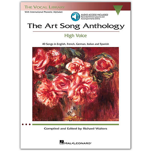 Hal Leonard The Art Song Anthology - High Voice Book/Online Audio