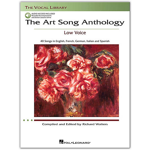 Hal Leonard The Art Song Anthology for Low Voice Book with 3 CD's