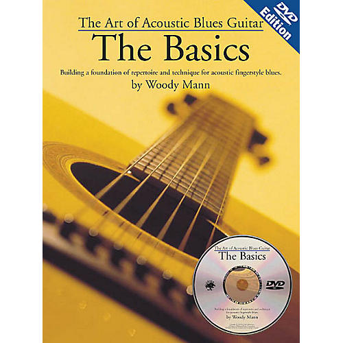 Music Sales The Art of Acoustic Blues Guitar - The Basics Music Sales America Series Softcover with DVD by Woody Mann-thumbnail