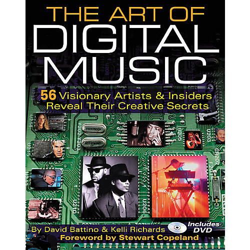 Backbeat Books The Art of Digital Music (Book and DVD Package)-thumbnail
