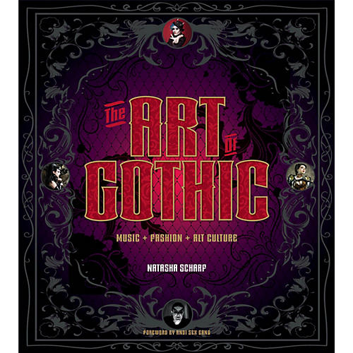 Backbeat Books The Art of Gothic (Music + Fashion + Alt Culture) Book Series Hardcover Written by Natasha Scharf-thumbnail