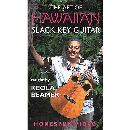 Hal Leonard The Art of Hawaiian Slack Key Guitar Video