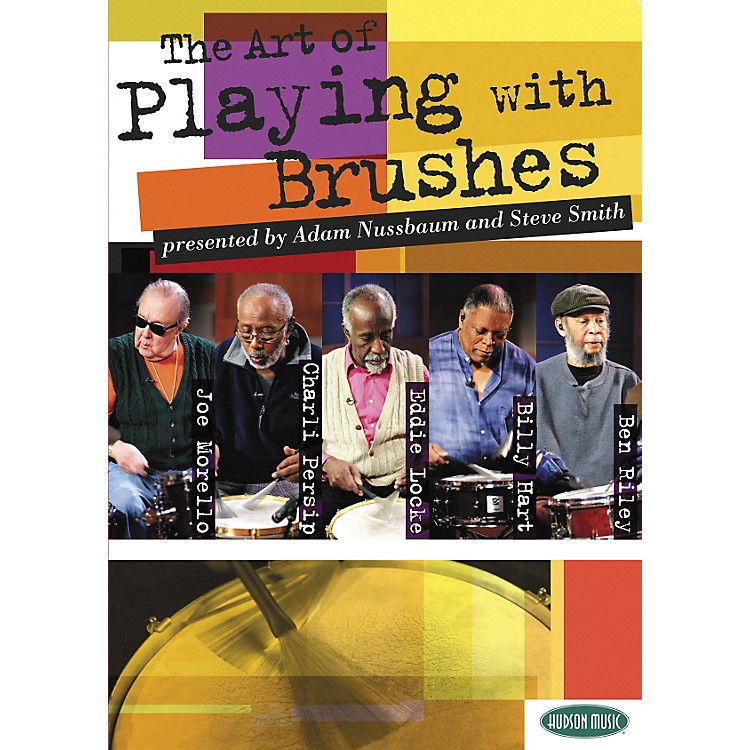 Hudson MusicThe Art of Playing With Brushes 2 DVDs with Play-Along CD and Booklet