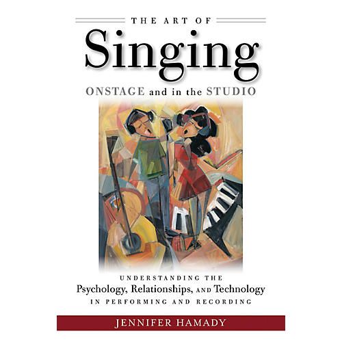 Hal Leonard The Art of Singing Onstage and in the Studio Book Series Softcover Written by Jennifer Hamady-thumbnail