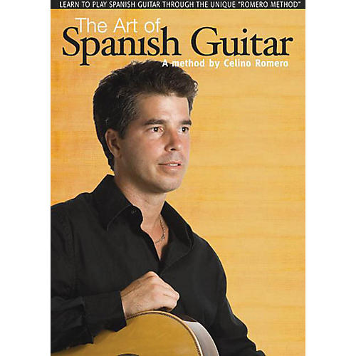 Music Sales The Art of Spanish Guitar Music Sales America Series DVD Written by Celino Romero-thumbnail