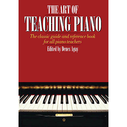Music Sales The Art of Teaching Piano Yorktown Series Softcover Written by Denes Agay-thumbnail