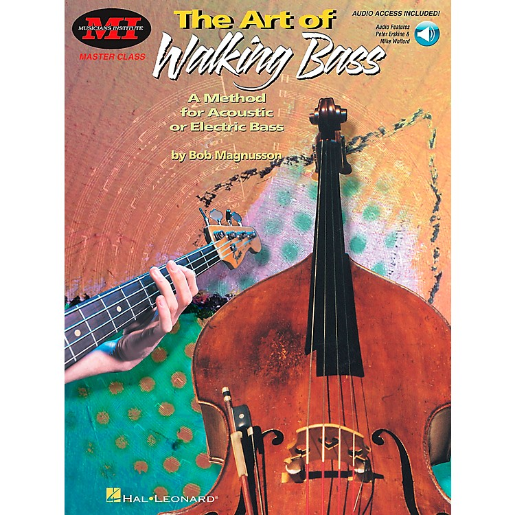 Hal Leonard The Art of Walking Bass Book/CD
