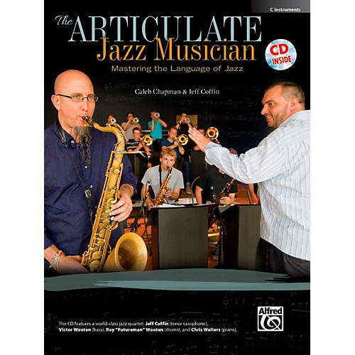 Alfred The Articulate Jazz Musician C Instruments Book & CD