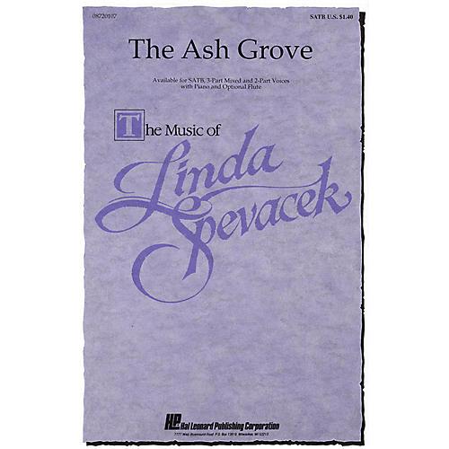 Hal Leonard The Ash Grove 3-Part Mixed Arranged by Linda Spevacek-thumbnail
