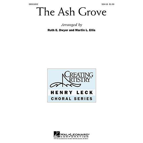 Hal Leonard The Ash Grove (SSA) SSA arranged by Ruth Dwyer-thumbnail