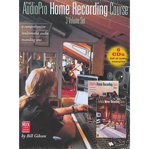Hal Leonard 'The AudioPro Home Recording Course, Complete Set'
