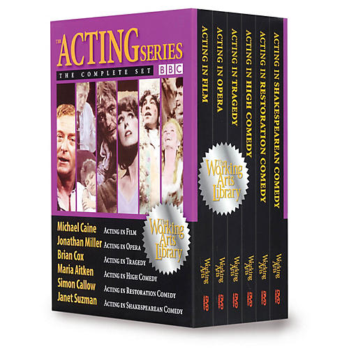 The Working Arts Library/Applause The BBC Acting Series: The Complete Set (Six DVDs) Applause Books Series DVD Written by Various Authors-thumbnail