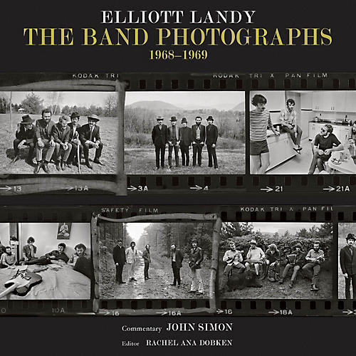 Backbeat Books The Band Photographs: 1968-1969 (Basic Hardcover Edition) Book Series Hardcover Written by Elliott Landy-thumbnail