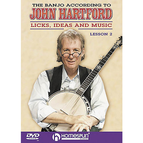 Homespun The Banjo According to John Hartford 2 (DVD)