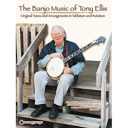 Centerstream Publishing The Banjo Music of Tony Ellis Book