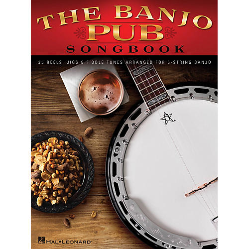 Hal Leonard The Banjo Pub Songbook (35 Reels, Jigs & Fiddle Tunes Arranged for 5-String Banjo) Banjo Series Softcover-thumbnail