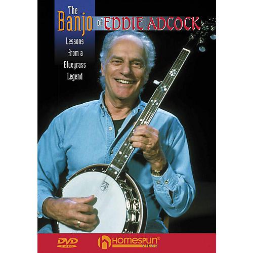 Homespun The Banjo of Eddie Adcock DVD/Instructional/Folk Instrmt Series DVD Performed by Eddie Adcock-thumbnail