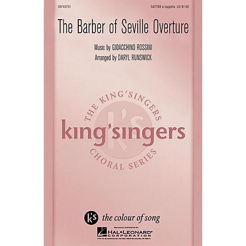 Hal Leonard The Barber Of Seville Overture SATTBB