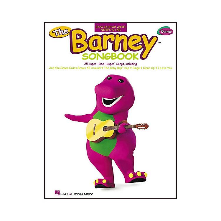 Hal LeonardThe Barney Easy Guitar (Songbook)