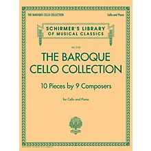 G. Schirmer The Baroque Cello Collection String Solo Series Softcover
