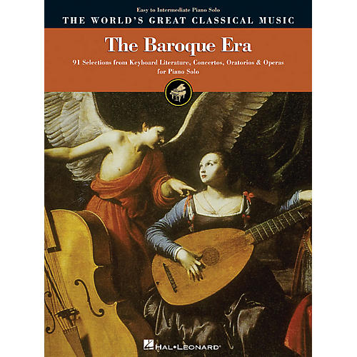 Hal Leonard The Baroque Era - Easy to Intermediate Piano World's Greatest Classical Music Series-thumbnail