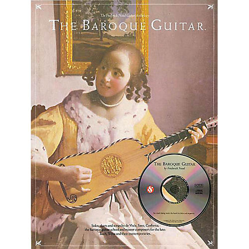 Music Sales The Baroque Guitar Music Sales America Series Softcover with CD-thumbnail