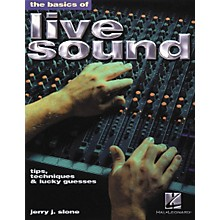 Hal Leonard The Basics of Live Sound Book