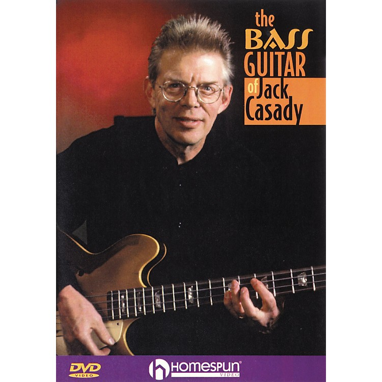 Homespun The Bass Guitar of Jack Casady (DVD)