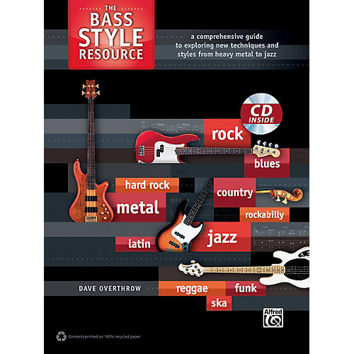 Alfred The Bass Style Resource Book & CD