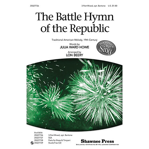 Shawnee Press The Battle Hymn of the Republic (Together We Sing Series) 3-Part Mixed arranged by Lon Beery