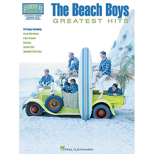 Hal Leonard The Beach Boys Greatest Hits Guitar Tab Book