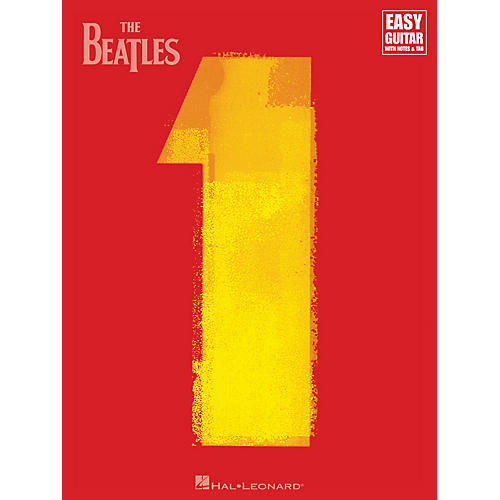 Hal Leonard The Beatles - 1 Easy Guitar Series Softcover Performed by The Beatles