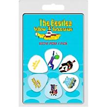 Perri's The Beatles - 6-Pack Guitar Picks Yellow Sub 2