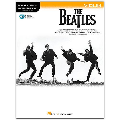 Hal Leonard The Beatles - Instrumental Play-Along Series Violin Book/Audio Online-thumbnail