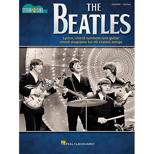 Hal Leonard The Beatles - Strum & Sing Series for Guitar-thumbnail