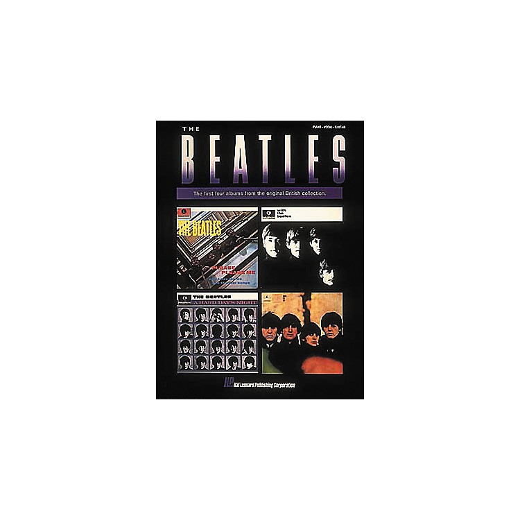 Hal Leonard The Beatles - The First Four Albums Piano, Vocal, Guitar Songbook